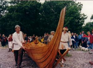 Sjøsetting av Frøya