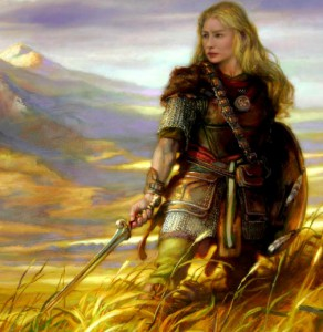 Eowyn the shieldmaiden